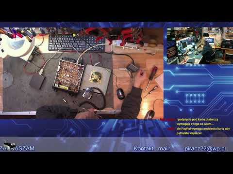 President jackson mikrofon z USA i live o radio UKF