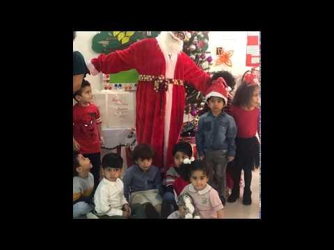 Christmas at Kiddy Care Preschool, Zinj.