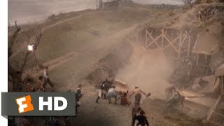 The Stage Collapses - The Day of the Locust (6/9) Movie CLIP (1975) HD