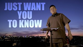 ZHANG ZE | JUST WANT YOU TO KNOW