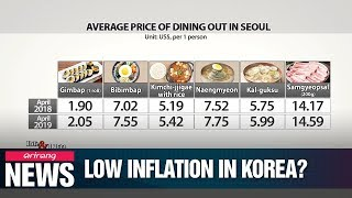 S. Korea's low inflation and how people feel about it