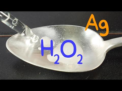 Hydrogen Peroxide + Silver (catalyzer)
