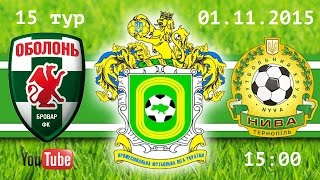 Obolon-Brovar K. vs Nyva Ternopil full match