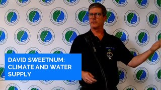 David Sweetnam - Water and Climate Change