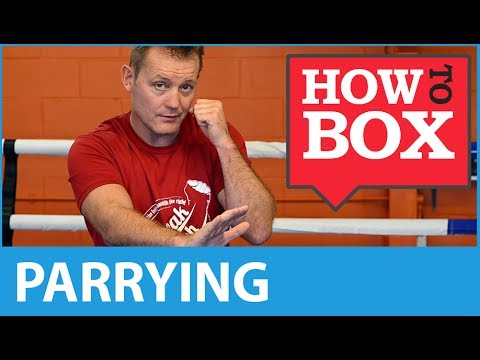 Parrying in Boxing - How to Box (Quick Video)