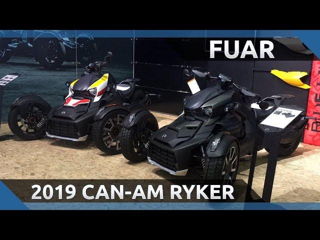 2019 Can-AM Ryker Ön İnceleme - 2019 Motobike İstanbul Fuarı