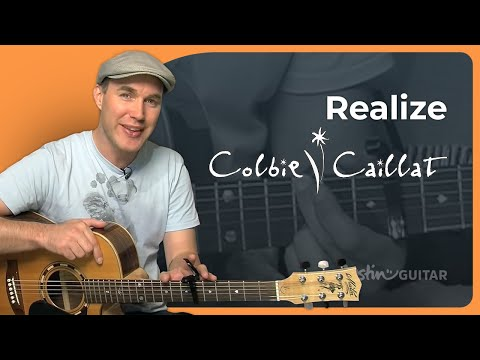 How to play Realize by Colbie Caillat (Guitar Lesson SB-217)