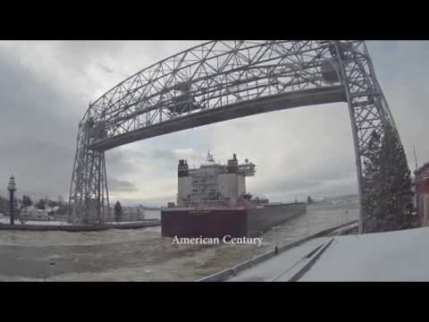 American Century arrived Duluth 01/03/2017