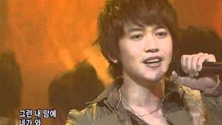 KangGyunseong-this time is different(강균성-이번엔 달라)@SBS Inkigayo 인기가요 20080203