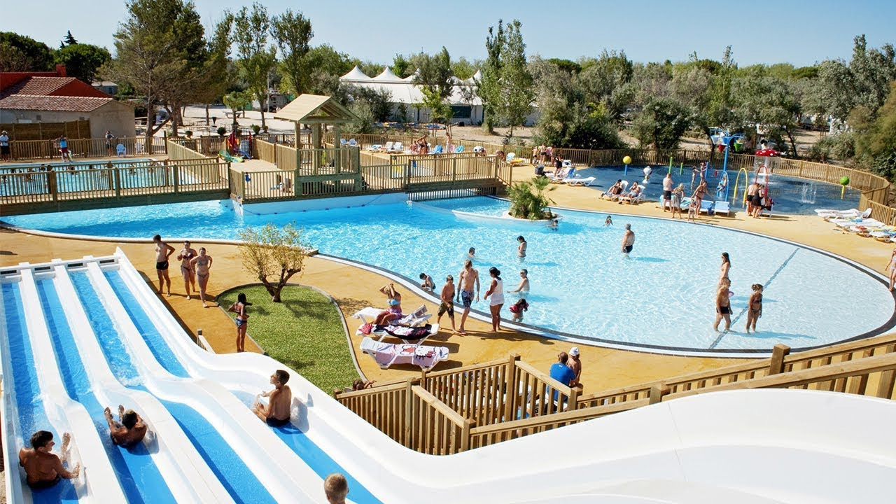 Camping camp ole la c te des roses camping narbonne - Camping a valras plage avec piscine ...