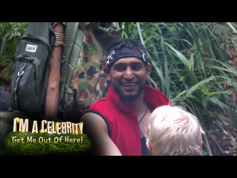 The Campmates React to Amir Khan's Bushtucker Trial!  I'm A Celebrity…Get Me Out Of Here!