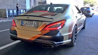 CRAZY RIDE in a Mercedes CLS63 AMG w/ Fi Exhaust!