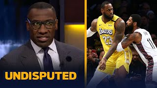 Skip & Shannon react to LeBron being hurt by Kyrie's clutch comment about Durant   NBA   UNDISPUTED
