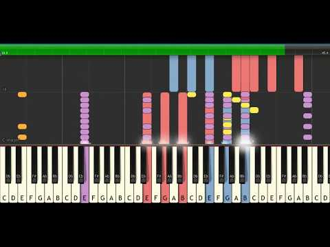 Closer - The Chainsmokers - (LYRICS) | Synthesia Piano Tutorial