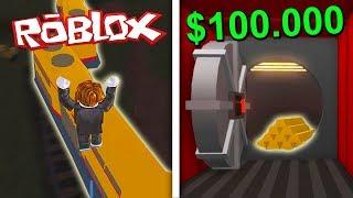 BANK EN TREIN OVERVALLEN IN ROBLOX! (ROBLOX JAILBREAK)