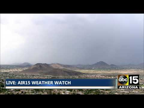 Storms in the North Valley - Rain, monsoon, haboob, dust storms