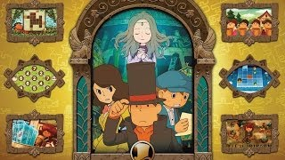 CGR Undertow - PROFESSOR LAYTON AND THE AZRAN LEGACY review for Nintendo 3DS