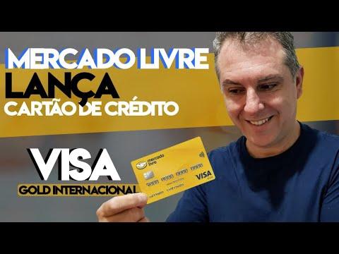 💳Mercado Livre: Lança Cartão de Crédito Visa Sem Anuidade Variante GOLD INTERNACIONAL👏🔝