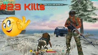 Garena Free Fire Battleground Squad 23 Kills | Android Gameplay #25