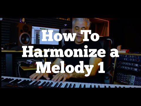 Music Composition: How To Harmonize a Melody Part 1