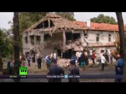 Za čo? Dokument k 15 výročiu NATO bombardovania Juhoslávie, 1 časť