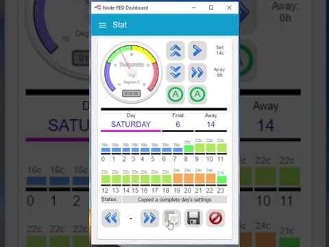 The New Node-Red Thermostat Control