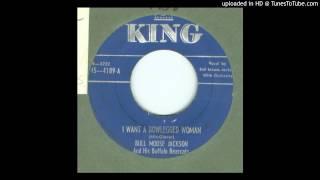 Jackson, Bull Moose - I Want a Bowlegged Woman ( With Porky Intro ) - 1951