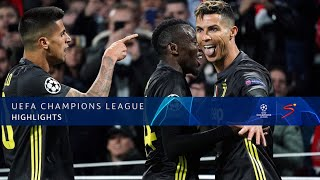 UEFA Champions League | Ajax vs Juventus | Highlights