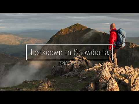 Lockdown in Snowdonia - the Afon Llugwy