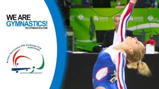 2018 Guimaraes Artistic Gymnastics World Challenge Cup – Highlights Women