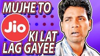 Mujhe To Jio Ki Lat Lag Gayee | Hindi Comedy | Pakau TV Channel