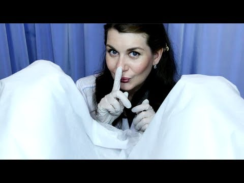 ASMR Gynecologist Visit Role Play Medical Exam