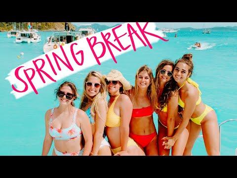SPRING BREAK FOREVER!!!!!! | My Last College Spring Break In The FREAKIN VIRGIN ISLANDS