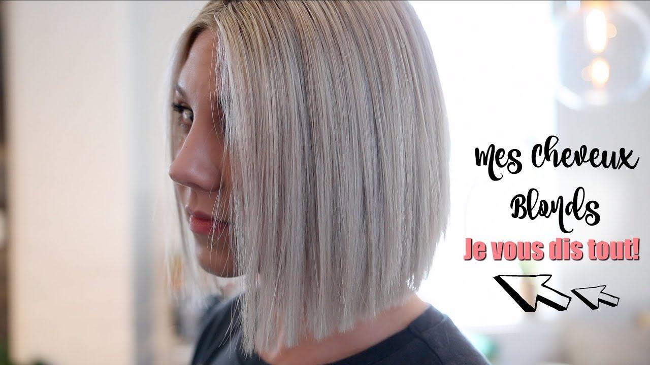 Je Vous Dis Tout Mes Cheveux Blonds Polaires Et Leur Entretien