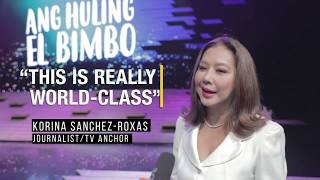 Resorts World Manila - Korina Sanchez Reacts to Ang Huling El Bimbo