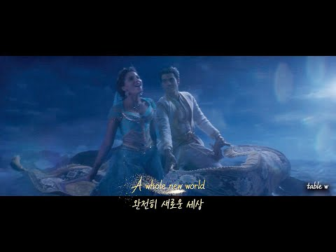 A Whole New World - Mena Massoud, Naomi Scott (Music Video/From Aladdin)