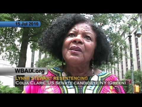 Colia Clark on Lynne Stewart Resentencing