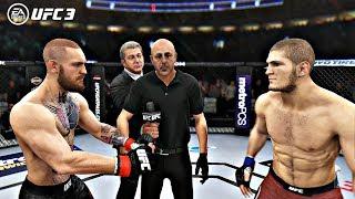 EA Sports UFC 3 Fights - Conor McGregor vs Khabib Nurmagomedov | PS4 Pro Gameplay