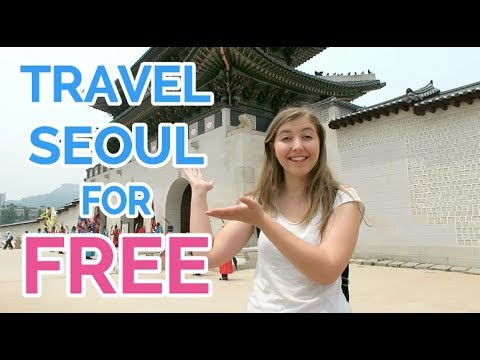 How To Travel Seoul For FREE !