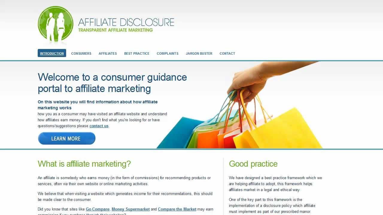 Watch Affiliates Disclosure video
