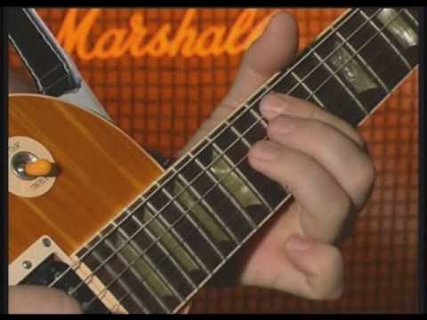 Slash Lesson- Guitar Licks and Riffs (Lick 1,3,5,6 and Riff 1)