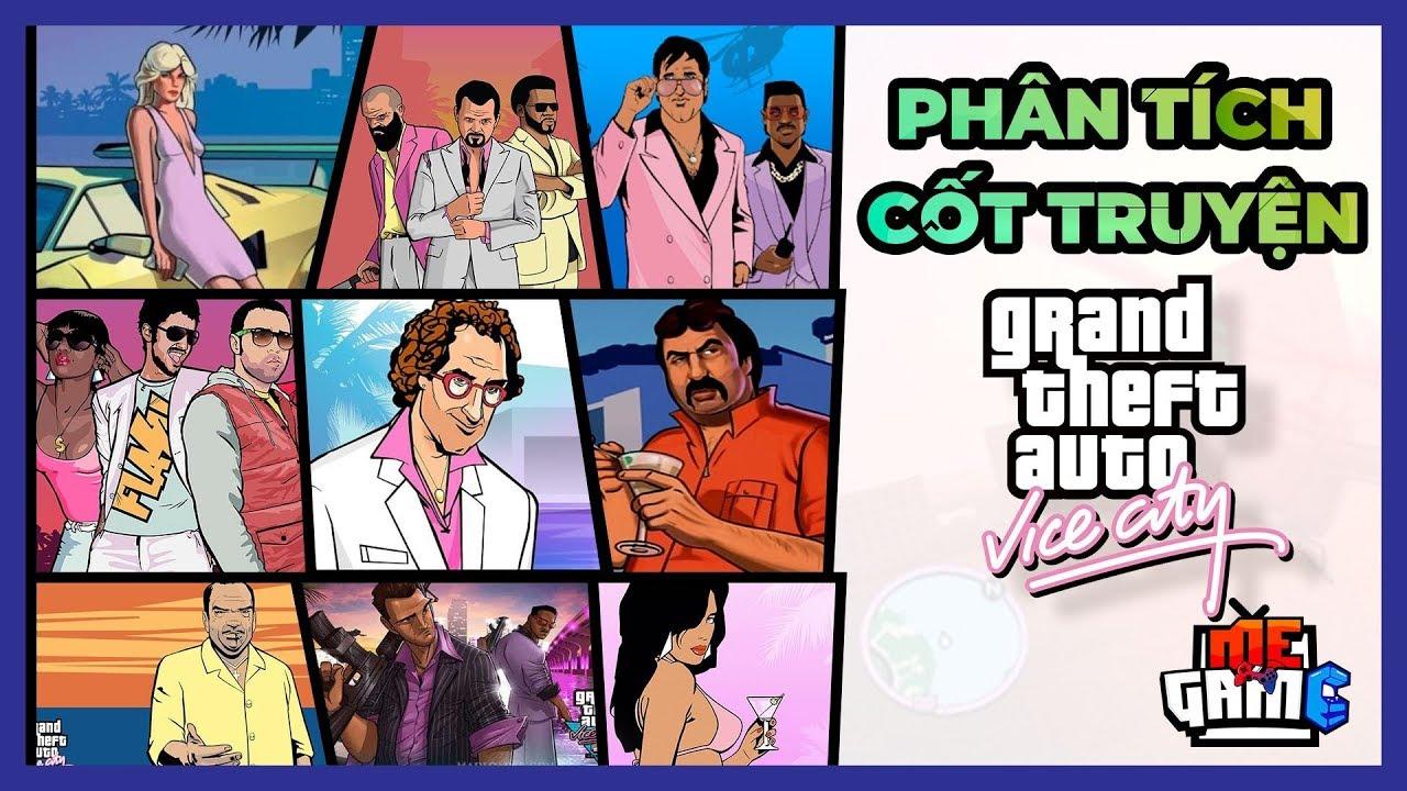 Phân tích cốt truyện Game: GTA VICE CITY | Story Explained – Game Tuổi Thơ | meGAME