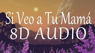 Cover images Bad Bunny - Si Veo a Tu Mamá (8D AUDIO) 360°