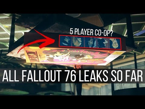 Every Fallout 76 Leak And Bethesda's Response To Them - Base Building, Multiplayer, Survival