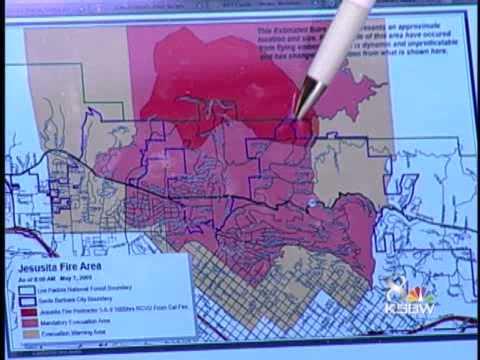 Evacuations Continue In Santa Barbara