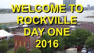 WELCOME TO ROCKVILLE 2016 DAY ONE: WE WALKED 10 MILES AND MANAGED TO SEE SOME BANDS IN BETWEEN