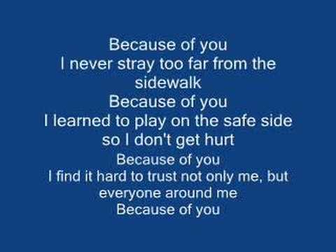 Kelly Clarkson - Because of You (Instrumental Version)