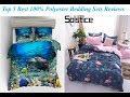 Top 5 Best 100% Polyester Bedding Sets