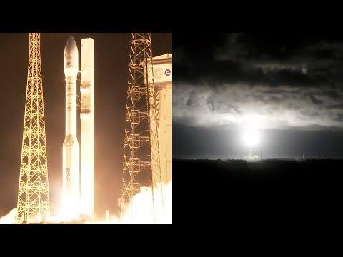 Инопланетяне сорвали запуск европейской Веги (+видео)
