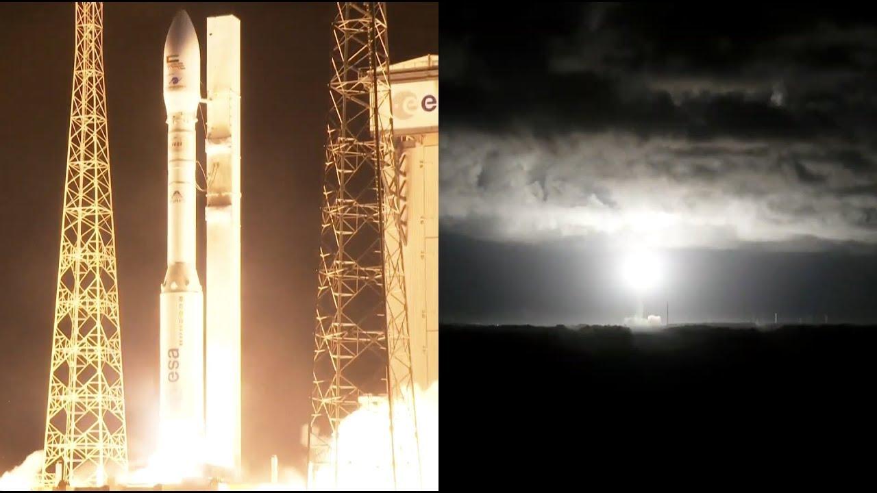 Франция провела неудачный пуск ракеты-носителя Vega